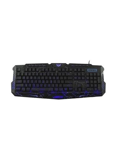 MF Product MF Product Strike 0582 Kablolu RGB Mekanik Hisli Gaming Klavye Siyah